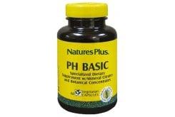 Nature's Plus Ph Basic Φόρμουλα για τη διατήρηση της Αλκαλικότητας του Αίματος, 60 vcaps