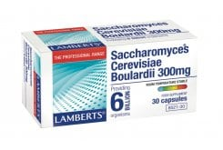 Lamberts Saccharomyces Boulardii 300mg 6 Billion Organisms per capsule, 30caps