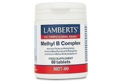 Lamberts Methyl B Complex Συμπλήρωμα Βιταμινών Συμπλέγματος B, 60tabs