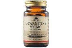 Solgar L-Carnitine 500mg Συμπλήρωμα Διατροφής Καρνιτίνης για Αύξηση Ενέργειας, Αντοχής & Ενίσχυση του Μεταβολισμού - Ιδανικό για Αθλητές, 30tabs