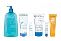 Bioderma Pack for dry skin in the body, 6 pieces