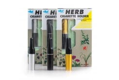 Herb Πίπες Cigarette Holder Ανταλλακτικά Φίλτρα με Θήκη, 12 τεμάχια & 1 θήκη