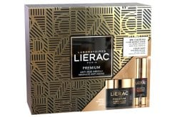 Lierac PROMO PACK με Premium La Creme Soyeuse Κρέμα Προσώπου Απόλυτης Αντιγήρανσης & Άνεσης με βελούδινο τελείωμα, 50ml & ΔΩΡΟ Lierac Premium Yeux Κρέμα Ματιών Απόλυτης Αντιγήρανσης Εμπνευσμένη από τις Έρευνες στην Αναγεννητική Ιατρική, 15ml