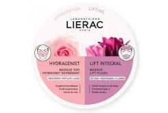 Lierac Hydragenist SOS Moisturizing Oxygenating Mask για Ενυδάτωση, Οξυγόνωση & Επαναπύκνωση, 6ml & Lift Integral Flash Lift Mask για Αντιγήρανση, Σύσφιξη & Επανασμίλευση, 6ml
