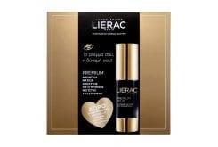 Lierac Promo Pack με Premium Yeux La Creme Regard Anti-age Absolu Αντιγηραντική Κρέμα Ματιών, 15ml & ΔΩΡΟ Premium Le Masque Supreme Μάσκα Αντιγήρανσης, 10ml & Cica Filler Serum Αντιρυτιδικός Ορός Επανόρθωσης, 10ml