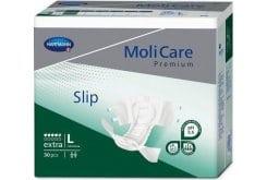 Hartmann Moli Care Premium Slip Extra Σλιπ Ημέρας για Μέτρια Ακράτεια, Μέγεθος Large (169847), 30 τεμάχια