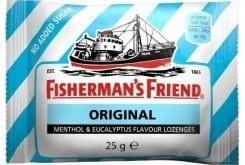Fisherman's Friend Original Καραμέλες Μινθόλης & Ευκαλύπτου, 25gr