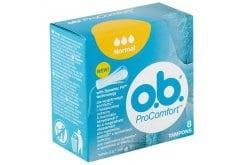 OB ProComfort Normal Ταμπόν, 8 τεμάχια