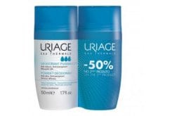 Uriage PROMO Deodorant Roll-On Power 3 Antiperspirant Deodorant, 2 x 50ml
