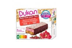 Dukan Expert Oat wafer with chocolate and berries (4x30gr), 120gr