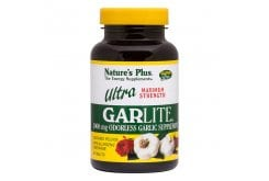Nature's Plus, Ultra Garlite 1000 mg S/R, 90 tabs