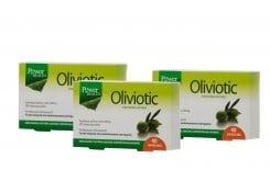 3 x Power Health Oliviotic Συμπλήρωμα Διατροφής από εκχύλισμα Φύλλων Ελιάς για την ενίσχυση του Ανοσοποιητικού Συστήματος, 3 x 40 caps