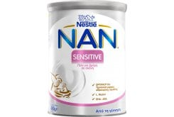 Nestle Nan Sensitive Γάλα για Βρέφη με Μικροπροβλήματα Πέψης, με Χαμηλή Λακτόζη, 400gr