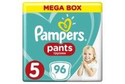 Pampers Pants Mega Pack No.5 (Junior) 12-18 kg Βρεφικές Πάνες Βρακάκι, 96 τεμάχια
