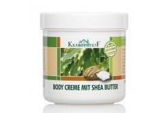 Krauterhof Body Cream with Shea Butter for Soft & Elastic Skin, 250ml