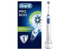 Oral B Pro 600 CrossAction Ηλεκτρική Οδοντόβουρτσα, 1τμχ