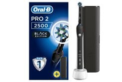 Oral-B Pro 2 2500 CrossAction Black Edition & Travel Case, 1 piece