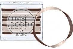 Invisibobble Basic Λαστιχάκια Μαλλιών για όλες τις ηλικίες, για κάθε στυλ & τύπο μαλλιών, 10 τεμάχια - Mocca & Cream