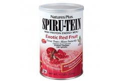 Nature's Plus, SpiruTein Exotic Red Fruit, 504 gr