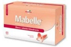 Mabelle tablets Φυτικά Οιστρογόνα για την αντιμετώπιση της εμμηνόπαυσης, 60 ταμπλέτες