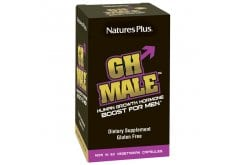 Nature's Plus GH Male Συμπλήρωμα για τη διέγερση της Ενδογενούς Παραγωγής & την έκκριση της Αυξητικής Ορμόνης, 60 caps