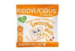 Kiddylicious Smoothie Melts Banana, Mango & Passion Fruit 12m+ Σμούθι Με Μπανάνα, Μάνγκο & Φρούτα Του Πάθους, 6gr