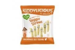 Kiddylicious Veggie Lenti Straws Καλαμάκια Φακής για Παιδιά από 9 μηνών, 15gr