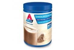 Atkins Shake Chokolate Πόσιμο Μίγμα Υψηλής Περιεκτικότητας σε Πρωτεΐνες με Γεύση Σοκολάτα, 370gr