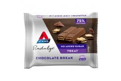 Atkins Endulge Chocolate Break Γκοφρέτα με Κρέμα & Επικάλυψη Σοκολάτας Γάλακτος, (3x21.5gr) 64.5gr