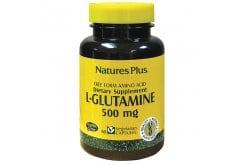 Nature's Plus L Glutamine 500mg Συμπλήρωμα Γλουταμίνης, 60 vcaps