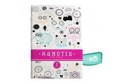 Agnotis Baby Diapers No 2 (3-6kg) Βρεφικές Πάνες, (5x42) 210 τεμάχια