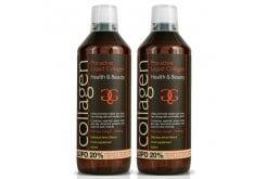 2x Collagen Pro Active Liquid Υγρό Πόσιμο Κολλαγόνο Ιδανικό για την Υγεία του Δέρματος, των Μαλλιών, των Νυχιών & των Αρθρώσεων - Γεύση Λεμόνι, 2x600ml