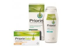 Priorin Extra Πακέτο κατά της Τριχόπτωσης με Συμπλήρωμα Διατροφής, 30Caps & Σαμπουάν για τα Λιπαρά Μαλλιά, 200ml