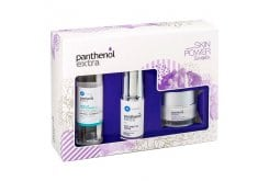 Panthenol Extra Skin Power Promo Face & Eye Serum & Night Cream & Micellar True Cleanser 3 in 1