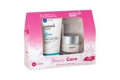 Panthenol Extra Promo Pack Day Cream Spf15 Κρέμα Προσώπου για Ενυδάτωση - Σύσφιξη - Λάμψη, 50ml & Face Cleansing Gel Τζελ Καθαρισμού Προσώπου, 150ml