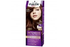 Schwarzkopf Palette Intensive Color Cream Semi-Set Βαφή Μαλλιών No.6-80 Ξανθό Σκούρο Μπορντό, 1 τεμάχιο