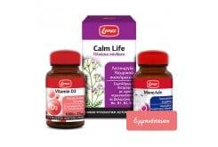 Lanes Πακέτο Προσφοράς για την Αντιμετώπιση Συμπτωμάτων Εμμηνόπαυσης με Calm Life, 50caps & Vitamin D3 1000 IU, 60tabs & MenoAde, 30tabs