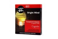 Lanes Bright Mind Promo Pack Συμπλήρωμα Διατροφής για την Ενίσχυση της Πνευματικής Ενέργειας 10amp. & 10caps.