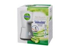 Dettol No-Touch Αυτόματη Συσκευή Κρεμοσάπουνου & Ανταλλακτικό Aloe Vera, 250ml