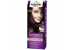 Schwarzkopf Palette Intensive Color Cream Semi-Set Βαφή Μαλλιών No.4-26 Δαμασκηνί, 1 τεμάχιο