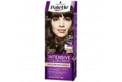 Schwarzkopf Palette Intensive Color Cream Semi-Set Βαφή Μαλλιών No.5 Καστανό Ανοιχτό, 1τεμάχιο