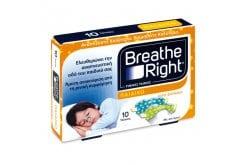 Breathe Right, Ρινικές Ταινίες για την άμεση Ανακούφιση από την Ρινική Συμφόρηση, Παιδικό Μέγεθος, 10 τεμάχια