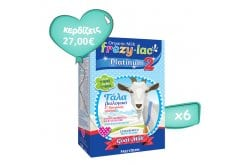 6 x Frezylac Platinum 2 Organic Milk Pack for 2 Infants, 6 x 400g