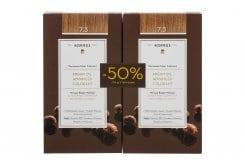 Korres PROMO -50% ΣΤΗ ΔΕΥΤΕΡΗ ΒΑΦΗ Argan Oil Advanced Colorant 7.3 Ξανθό Χρυσό/ Μελί Μόνιμη Βαφή Μαλλιών με Τεχνολογία Pigment-Lock που Κλειδώνει το Χρώμα 50ml