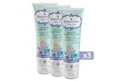 3x Pharmasept Tol Velvet Baby Soothing Cream Βρεφική Ενυδατική Κρέμα για το Πρόσωπο & το Σώμα, 3x 150ml