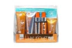 Intermed Luxurious Sun Care Travel Kit Σετ με Sunscreen Cream 30 SPF 75ml & After Sun Cooling Gel 75ml & Tanning Oil 6 SPF 50ml & Hydrating Antioxidant Mist 50ml & Face Cream 50 SPF 40ml