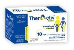 Abc Kinitron TherActiv Biotic Συμπλήρωμα Διατροφής με Προβιοτικά, Πρεβιοτικά & Σύμπλεγμα Βιταμινών Β, 10 x 10ml