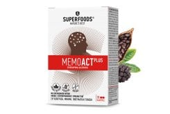 Superfoods Memoact Plus Συμπλήρωμα Διατροφής για Μνήμη, Συγκέντρωση & Πνευματική Κόπωση, 30caps