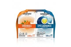 Superfoods Promo Pack με Ιπποφαές 50veg. caps &Δώρο Omegadvance Συμπλήρωμα Διατροφής Ω3, 30softgels