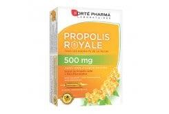 Forte Pharma Propolis 500mg Συμπλήρωμα Διατροφής με Πρόπολη για την Ενίσχυση του Ανοσοποιητικού, 20 amps